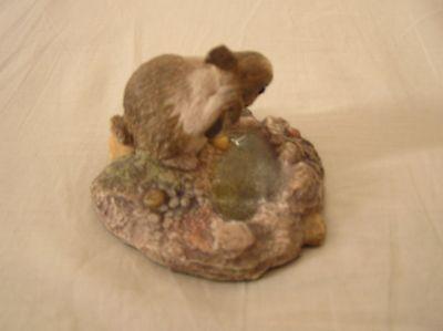 Vintage John Beswick Studio Sculptures of a Rabbit