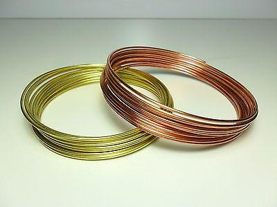 Filo Rame matassa mm 1 / 1,5 / 2 / 2,5 / 3 mm DIY Soft Copper wire jewels Hobby 5