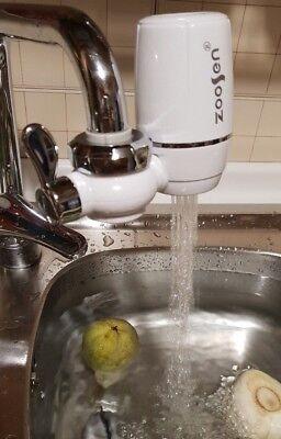 Purificatore Filtro Acqua Per Rubinetto Cucina Rinfrescante Water Purifier Cloro 6