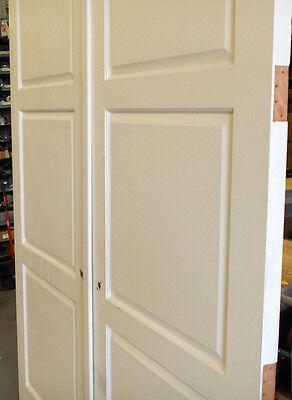 """1 Pair Solid Core Doors 3'-0"""" x 8'-0"""" X 1 3/4""""(72""""x96"""" Opening) 2"""