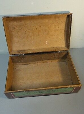 Great 19Th Century Hand Made Wooden Bride's Box, Dome Top, Original Paint 5