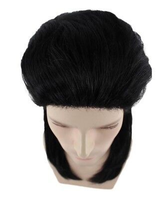 80/'s Mullet Straight Wig Cosplay Punk Rock Star Halloween Party Costume HM-151