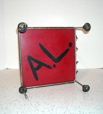 "Early ""Jack & Jill"" Child's Metal Kiddie Chair DETROIT MICHIGAN Retro 50's 4"