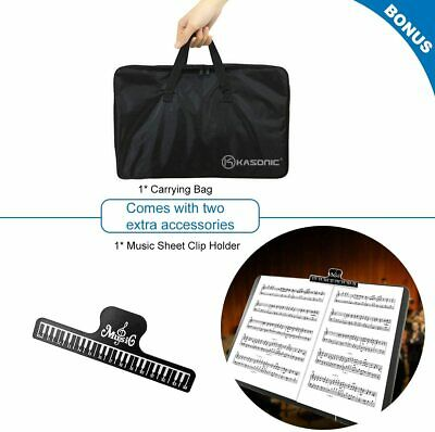 Music Stand, Professional Sheet Music Stand with Clip Holder, Carrying Bag 6