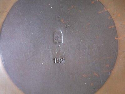 German Hand-Hammered Arts & Crafts Vase - WMF -  No.152 8
