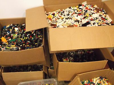 Clean 100% Genuine LEGO 5 LB Lots pounds Bulk Lot Cleaned Sanitized 2