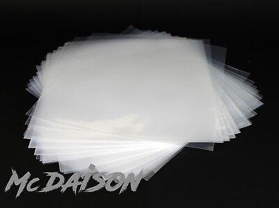 McDAISON 50 BUSTE x DISCHI LP in POLIETILENE vinile DJ QUALITA' TOP! 100 micron 2