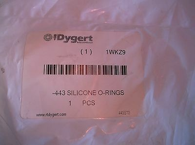 NEW 1WKZ9 O-Ring, Silicone, AS568A-443, Round (F18T) 2