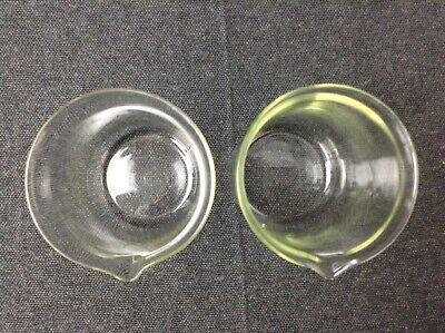 Laborglas Messzylinder Dagra Apothekerglas Glas Petrischale Messkolben DDR 6