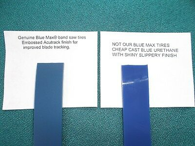 """2 BLUE MAX BAND SAW TIRES AND 1//4/"""" BAND SAW BLADE FOR CRAFTSMAN 124.214000"""