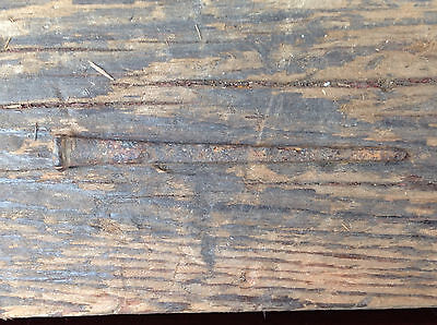 1 Antique Square Head Nail 11