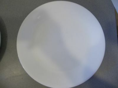 ... Corelle Dinnerware Winter Frost Set 4 Dinner Plates Solid All White : corell dinnerware - pezcame.com