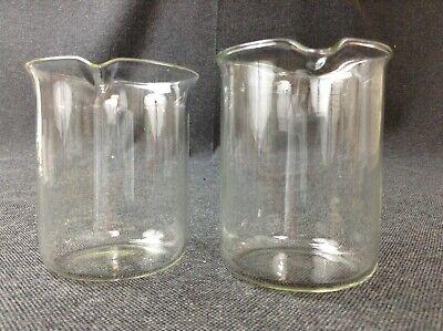 Laborglas Messzylinder Dagra Apothekerglas Glas Petrischale Messkolben DDR 4