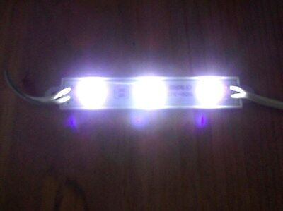6 BBT 12 volt Waterproof Marine Grade Snap-In Cool White LED Accent Lights