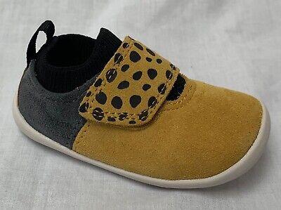 BNIB Clarks Baby Roamer Go Burgundy Leather Pre Walker Shoes