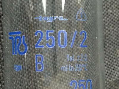 Laborglas Messzylinder Dagra Apothekerglas Glas Petrischale Messkolben DDR 10
