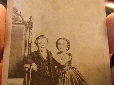 Rare Antique Victorian Era Photograph Of General Tom Thumb & Wife Lavinia Warren 5