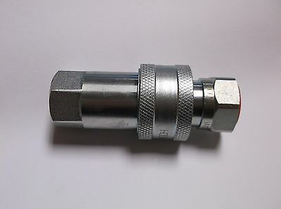 "1//2/"" BSP 2 X HOLMBURY IAPC ISO A CONNECT AT PRESSURE HYDRAULIC MALE COUPLINGS"