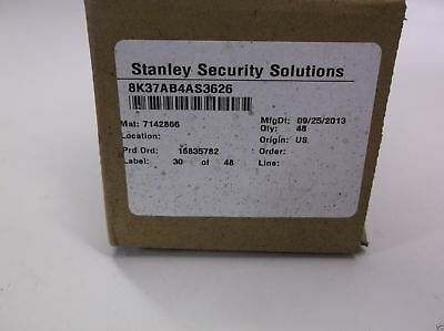 Stanley security solutions cylinder lock 8K37AB4AS3626