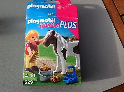 Playmobil Special  Plus 5291 Mädchen beim Pony  NEU OVP