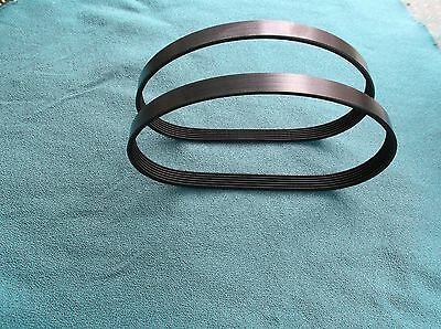 2 New Drive Belts For Craftsman Model 113.248320 Band Saw 2