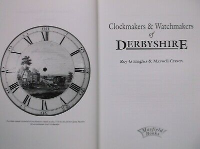 Clockmakers Watchmakers Derbyshire Hughes Horology Whitehurst Nice Copy 2