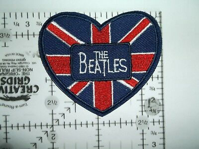 The BEATLES Embroidered Patch Patches~Many Versions~Quality~Iron on Sew~Collect 10