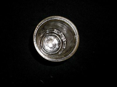 Coffee  Catch Cup Glass Jar  Fits Antique  Arcade Grinder Crystal Wall  Mount 2