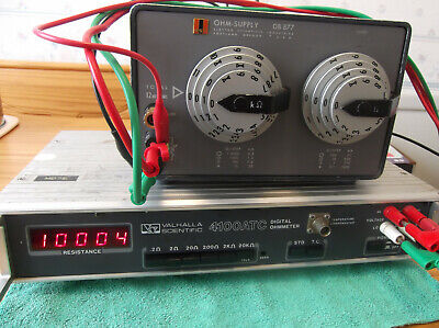 ESI DB877 Resistance Decade Box 0.1Ohm-12MOhm total AS-IS Read Free Shipping 12