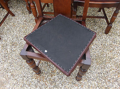COLLECTION OF OAK 1920s REFURBISHED DINING CHAIRS - FOR PUBS, RESTAURANTS ETC 8