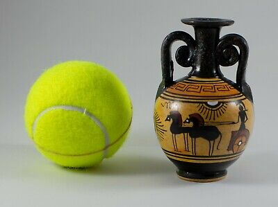 Ancient Greek Ceramic Vase of the Geometric Period - Handmade in Greece 6