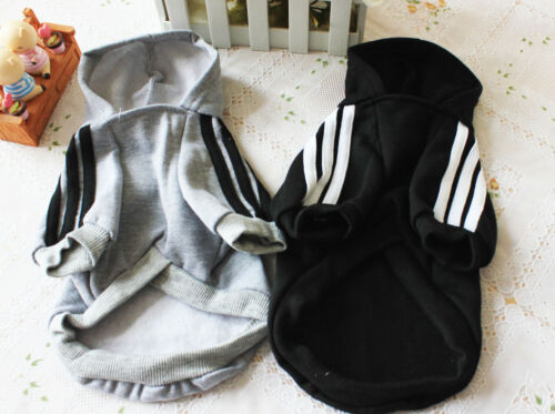 Cute Medium M Pink Adidog Hoodies For Male Small Dogs Outfits Apparel Cheap US 9