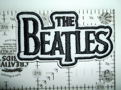 The BEATLES Embroidered Patch Patches~Many Versions~Quality~Iron on Sew~Collect 9