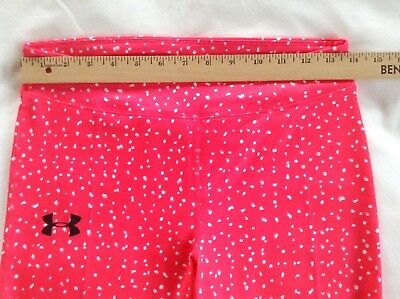 NWT Under Armour Girl's Cropped Leggings Capri Pant Size Large Retail $34.99 3