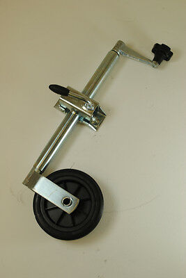 34mm trailer jockey wheel and clamp Free p/p