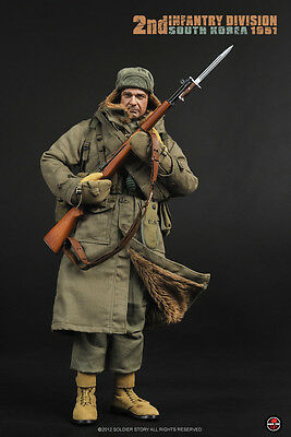 Soldier Story 1//6 Scale US 2nd Infantry Division South Korea Bandoleer SS-069