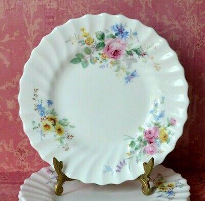 "Royal Doulton Arcadia Green Backstamp Set of 2 Side, Bread & Butter Plates, 6.5"" 3"
