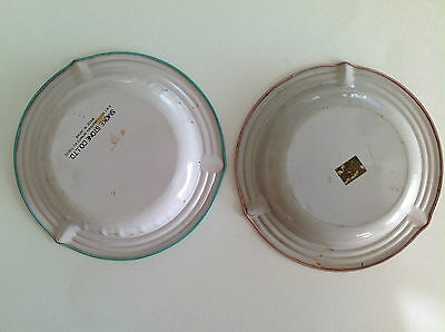 Vintage Antiques American Ashtrays Set of 2 / Made In Japan 5