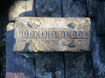 Vintage Hocking Block pavers from lancaster ohio fairfield county fairgrounds! 9