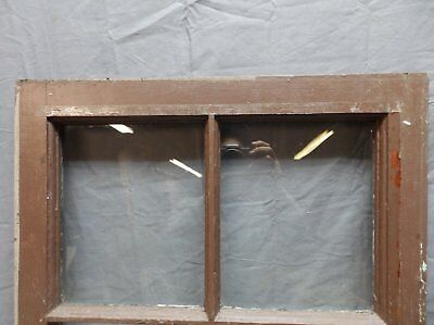 Antique 6 Lite Window Sash 35x20 Casement Sunroom Architectural Old Vtg 625-18P 2