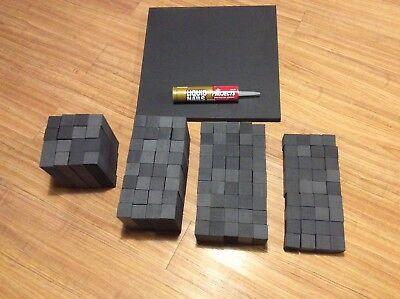 "DIY 3 lb 15"" x 15"" Ceiling Acoustic Skyline Sound Diffuser Studio Acoustic Panel 4"