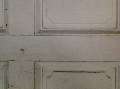 Rare Pair Of 18th Century Federal Exterior Doors Antique Door Latches Hardware 3