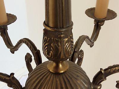 Antique Style Brass Chandelier 5