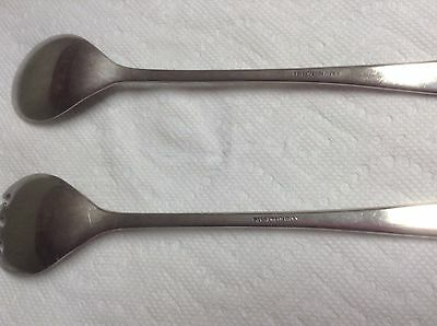 Fb Rogers Italy Silver Plated Serving Spoon & Fork 3