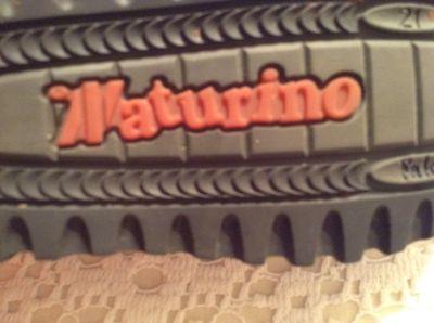 Moschino Enfant (Naturino): Superbes Chaussures Cuir Enfant Prestige Pointure 21 2