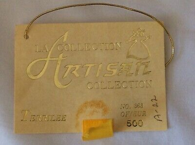 """Vintage CHSN La Collection Artisan 1990 TERRILEE 12"""" doll limited edition Music 8"""