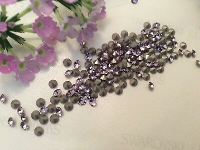 Large Czech Rhinestones Unfoiled Round Vintage Pack of 6 Colour Size Choice