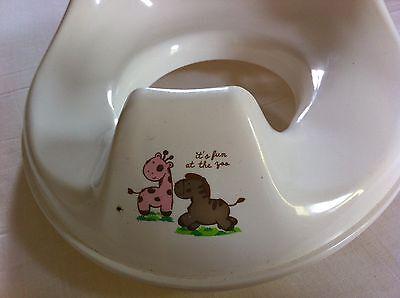 Bébé-jou! Toiletten Sitzverkleinerer in weiß! TOP!