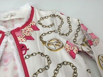 Miss Grand Outfit, Set, Size 38, Age 10,Skirt, Top & Cardigan, Pink & White, Vgc 5