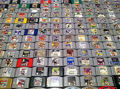 all 296 n64 games list
